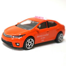 Toyota Corolla Altis Thai Taxi Car Orange Majorette Model Diecast Limited Toys