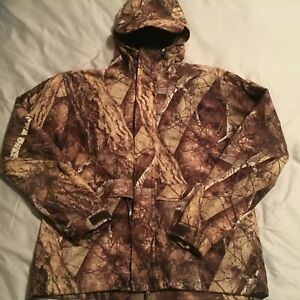 Gamehide Boy's Naked North Camo Hunting Jacket Size 14 Med EUC