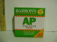 Barron'S Ap Calculus Exam 400 Flash Cards 2 nd. Edition