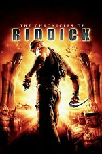 The Chronicles of Riddick Dvd 2004 Widescreen Vin Diesel Action Sci-fi Nice Copy
