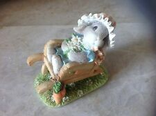 "My blushing Bunnies Figurine ""Springtime Blessings"" NIB"