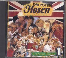 DIE TOTEN HOSEN - Learning english - Lesson 1 - CD 1991 USATO OTTIME CONDIZIONI