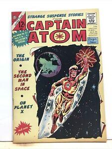 STRANGE SUSPENSE STORIES presents CAPTAIN ATOM #75 VF+ - STEVE DITKO 1965