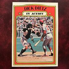 1972 Topps Set DICK DIETZ IN-ACTION IA #296 S.F. GIANTS - NR-MINT *HIGH GRADE*