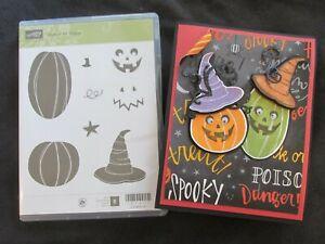 Stampin Up Jack of All Trades - Halloween Jack O Lantern Pumpkins New