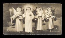 "santino-holy card ""ediz.NB n.1556 GESU' BAMBINO CON GLI ANGELI"