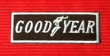 GOODYEAR TYRE TYRES RACING TEAM MOTOR SPORTS CAR BADGE IRON SEW ON PATCH