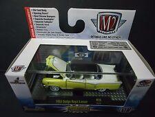 M2 Dodge Royal Lancer 1955 Yellow 1/64 32500-35