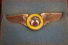 Association of Shrine Motor Corp Wings Original Box Shriner Masonic Rare Nos