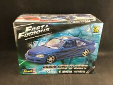 Revell Fast & Furious Honda Civic Si Coupe 1:25 Scale Plastic Model Kit 85-4331