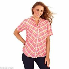 Women's Collarless Fitted Tops & Shirts
