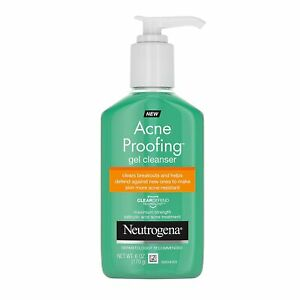 Neutrogena Acne Proofing Daily Facial Gel Cleanser with Salicylic Acid Acne...