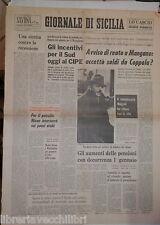 4 Gennaio 1974 Nixon Angelo Mangano su Luciano Liggio Morto Gino Cervi Siracusa