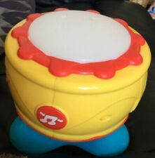 Musical Spin And Hit Drum With Light And Sound