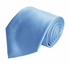 BERLIONI FANCY MATCHING NECKTIE HANKY SET SOLID DESIGNER L BLUE