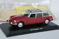 UH Presse 1/43 - Citroen DS ID 19 Break Familiale 1967 Rouge
