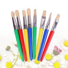 6 Pcs/Set Professional Paint Brush Set Nylon Handle Brush Kid Watercolor Drawing