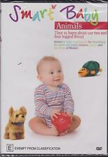 SMART BABY - ANIMALS - TIME TO LEARN ABOUT OUR 2 & 4 LEGGED FRIENDS - DVD - NEW