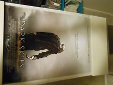DARK SKIES ORIGINAL PROMO MOVIE POSTER,2012 KERI RUSSELL,JOSH HAMILTON,DAKOTA GO