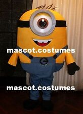 Minions despicable me Mascot Costume figure birthday party character fancy dress