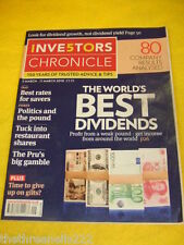 INVESTORS CHRONICLE - POLITICS AND THE POUND - MARCH 5 2010