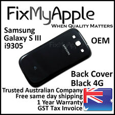 Samsung Galaxy S III S3 i9305 Black Back Rear Cover Battery Housing Door Case 4G