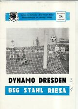 OL 79/80 BSG Stahl Riesa - SG Dynamo Dresden