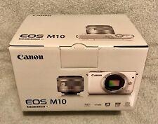 ## Canon EOS M10 KIT 15-45 mm ## EF-M15-45 IS STM ## SCHWARZ ## NEU ## OVP ##