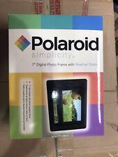 Polaroid Simplicity 7 Inch Digital Photo Frame PLUS Weather Station
