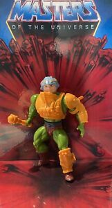 Masters Of The Universe - Man At Arms 1982 Malaysia 100% Komplett Complete MotU
