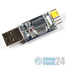 USB 2.0 TTL Konverter CH340 Adapter Wandler UART Seriell CP2102 PL2303 FT232RL