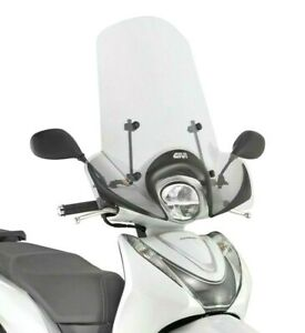 Honda SH MODE 125 2021 > 2022 SCREEN WINDSCREEN GIVI 1193A + A1193A fitting kit