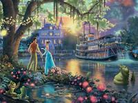 THOMAS KINKADE PUZZLE DISNEY DREAMS THE PRINCESS AND THE FROG 300 PCS #2222-8