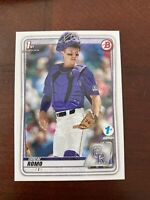 2020 Bowman Draft 1st Edition #106 Drew Romo Rockies