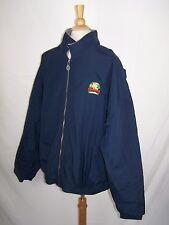 NCAA 2001 Div 1-AA Football Championship 3XL Zip Jacket Gear Sports Navy Blue
