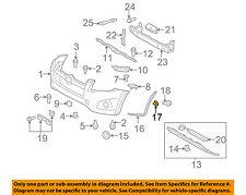 TOYOTA OEM 09-12 RAV4 Front Bumper-Extension Retainer 521150R010