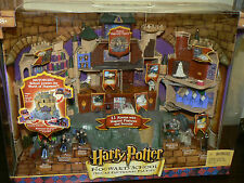 Harry Potter Hogwarts School Deluxe Elec. Playset New