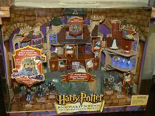 Harry Potter Hogwarts School Deluxe Elec. Playset New