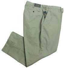 03043a6093e3 New Big Mens Polo Ralph Lauren Stretch Classic Fit Gray Chino Pants 50 x 30