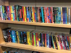 Job lot of children's paperback books for children aged 9-12