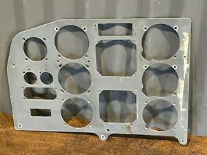 Vintage Aviation Airplane Piper PA-31 Instrument Control Panel