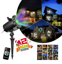 New ListingHalloween Projector Lights + Other Holidays Christmas Slides Landscape Home