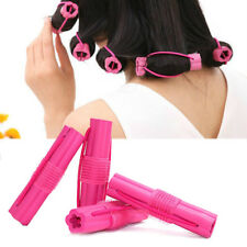 The Sleep Styler For Long Hair 6pcs Rollers Curlers Sponge Hair Styling Soft