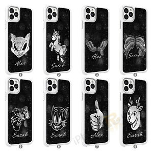 Mobile Phone Personalised Name Case Cover For Samsung Galaxy Models 134