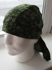 Genuine Russian Army Spetsnaz Officer Uniform Bandana Kerchief 'Pixel' Green
