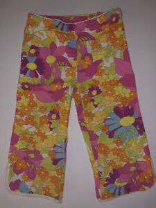 Gymboree SUNSHINE DAYDREAMS 🌼 Multicolor Flower Pants Size 7