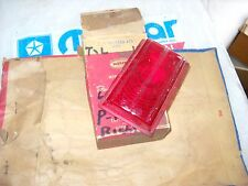 NOS MOPAR 1949 PLYMOUTH 2 DOOR RIGHT TAIL LITE LENS- 1253473