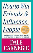 How To Win Friends & Influence People By Dale Carnegie (New Paperback Book)