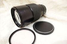 Nikon Nikkor sun classic 200mm f/2.8 2.8  AI MF Telephoto Lens. sharp lens