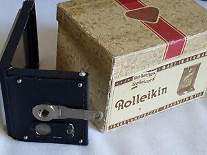 Rolleikin Rolleiflex Rolleicord Film Adaptor Adapter Holder Kit COMPLETE & MINT